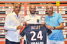 Christophe Jallet signs for OGC Nice - 21 July 2017