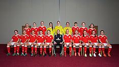 160406 Wales Women Team Portraits