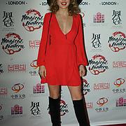 London, UK. 23rd November 2017. Presenter Emily Warburton Adams attends 'Magical Lantern Festival' VIP Night preview, London, UK