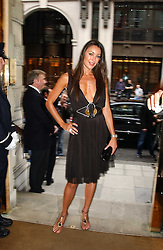TAMARA MELLON at '4 Inches' a project 'For Women about Women By Women' - A photographic Auction in aid of the Elton John Aids Foundation hosted by Tamara Mellon President of Jimmy Choo and Arnaud Bamberger MD of Cartier UK at Christie's, 8 King Street, London W1 on 25th May 2005.<br /><br />NON EXCLUSIVE - WORLD RIGHTS