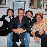 NL/Blaricum/20110915 - Lancering single Gordon & Los Angeles The Voices en CVSTOS watches, Gerard Joling en Kristine Kronenberg