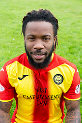 Partick Thistle's Mustapha Dumbuya