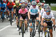 Christopher Froome (GBR - Team Sky) - Simon Yates (GBR - Mitchelton - Scott) during the 101th Tour of Italy, Giro d'Italia 2018, stage 10, Penne - Gualdo Tadino 239 km on May 15, 2018 in Italy - Photo Luca Bettini / BettiniPhoto / ProSportsImages / DPPI