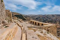 Al Karak kerak crusader castle fortress Jordan middle east