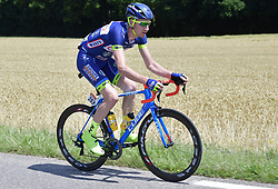 July 4, 2017 - Mondorf Les Bains / Vittel, Luxembourg / France - VITTEL, FRANCE - JULY 4 : BACKAERT Frederik (BEL) Rider of Wanty - Groupe Gobert in action during stage 4 of the 104th edition of the 2017 Tour de France cycling race, a stage of 207.5 kms between Mondorf-Les-Bains and Vittel on July 04, 2017 in Vittel, France, 4/07/2017 (Credit Image: © Panoramic via ZUMA Press)