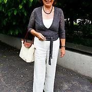 NLD/Amsterdam/20100716 - Inloop modeshow Monique de Collignon bij de AIF, Bruni Heinke