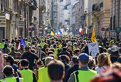 March 30, 2019 - Paris, France - Manifestation des Gilets Jaunes a Paris (Credit Image: © Panoramic via ZUMA Press)