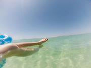 Relaxing on the Gulf Coast in San Destin.