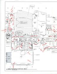 Sarah Gibbons Middle School Pre-Demolition Documentation. Key Plan Number 2 of 15
