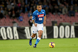 October 28, 2018 - Naples, Naples, Italy - Allan of SSC Napoli during the Serie A TIM match between SSC Napoli and AS Roma at Stadio San Paolo Naples Italy on 28 October 2018. (Credit Image: © Franco Romano/NurPhoto via ZUMA Press)
