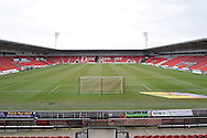 Doncaster Keepmoat Stadium before the Sky Bet League 1 match between Doncaster Rovers and Millwall at the Keepmoat Stadium, Doncaster, England on 27 February 2016. Photo by Ian Lyall.