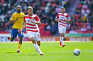 during the EFL Sky Bet League 1 play off first leg match between Doncaster Rovers and Charlton Athletic at the Keepmoat Stadium, Doncaster, England on 12 May 2019.
