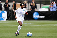 04 December 2011: Duke's Natasha Anasi. The Stanford University Cardinal defeated the Duke University Blue Devils 1-0 at KSU Soccer Stadium in Kennesaw, Georgia in the NCAA Division I Women's Soccer College Cup Final.