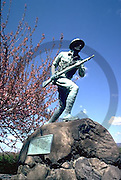 Harrisburg, PA, Riverfront Park, War Memorial Statue