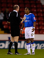Photo: Jed Wee.<br /> Sheffield United v Birmingham City. Carling Cup. 24/10/2006.<br /> <br /> Birmingham's Neil Danns.