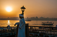Sunrise over the Nile in Luxor
