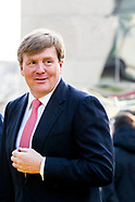 King Willem-Alexander opens the exhibition 'Van Gogh & Japan' at the Van Gogh Museum in Amsterdam.