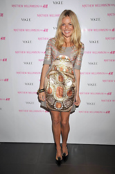 SIENNA MILLER at a party to celebrate the launch of the Matthew Williamson collection at H&M held at the H&M store, Regent Street, London on 22nd April 2009.