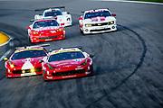 August 17, 2013: Grand Am Kansas. Alessandro Balzan, Leh Keen, Scuderia Corsa,  Jeff Segal, Alex Tagliani, AIM Autosport