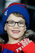 Crystal Palace fan during The FA Cup 3rd round match between Crystal Palace and Grimsby Town FC at Selhurst Park, London, England on 5 January 2019.