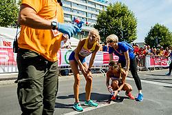 August 12, 2018 - Berlin, GERMANY - 180812 Hanna Lindholm of Sweden after the women's marathon final during the European Athletics Championships on August 12, 2018 in Berlin..Photo: Vegard Wivestad GrÂ¿tt / BILDBYRN / kod VG / 170206 (Credit Image: © Vegard Wivestad Gr¯Tt/Bildbyran via ZUMA Press)