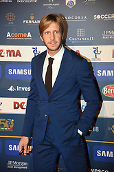 December 3, 2018 - Milan, Italy - Massimo Ambrosini attends the 'Oscar Del Calcio AIC' Italian Football Awards on December 3, 2018 in Milan, Italy. (Credit Image: © Andrea Diodato/NurPhoto via ZUMA Press)