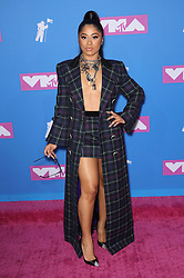 August 21, 2018 - New York City, New York, USA - 8/20/18.Hennessy Carolina at the 2018 MTV Video Music Awards held at Radio City Music Hall in New York City..(NYC) (Credit Image: © Starmax/Newscom via ZUMA Press)