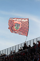 Drapeau Toulon - 10.01.2015 - Toulon / Racing Metro - 16e journee Top 14<br />Photo : Jc Magnenet / Icon Sport