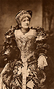 Ellen Alice Terry (1847-1928) English actress. From 1878 she had a successful 25-years professional partnership with Henry Irving. Here as Queen Katherine in the history play 'Henry VIII' by William Shakespeare. Photogravure c1895.