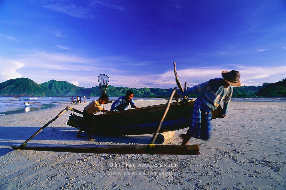Selong Belanak, Lombok, West Nusa Tenggara, Indonesia.