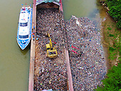 Waste Poured Into River