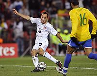 Fotball<br /> USA v Brasil<br /> Foto: DPPI/Digitalsport<br /> NORWAY ONLY<br /> <br /> FOOTBALL - CONFEDERATIONS NATIONS CUP 2009 - FINAL - USA v BRAZIL - 28/06/2009<br /> <br /> GOAL LANDON DONAVAN (USA)