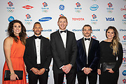 Members of the Rugby 7s team at Team GB's annual ball at Old Billingsgate on the 21st November 2019 in London in the United Kingdom.