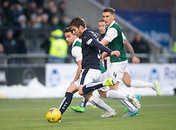 Falkirk's Luke Leahy. <br /> Falkirk 1 v 1 Hibernian, Scottish Championship game played 17/1/2015 at The Falkirk Stadium.