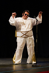 Visually impaired Elvis impersonator