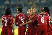Fotball<br /> Nederland 2004/05<br /> AZ Alkmaar <br /> Jubel for scoring<br /> Foto: Digitalsport<br /> NORWAY ONLY