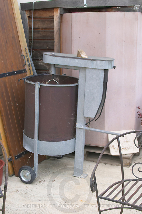 Biodynamic dynamiser for infusions. Domaine Gauby, Calces, roussillon, France