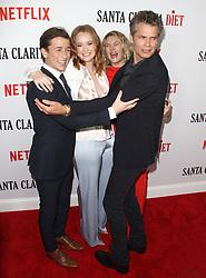 Los Angeles Premiere of Netflix's Santa Clarita Diet Season Two at Arclight in Hollywood, California on 3/22/18. 22 Mar 2018 Pictured: Drew Barrymore, Liv Hewson, Skyler Gisondo, Timothy Olyphant. Photo credit: River / MEGA TheMegaAgency.com +1 888 505 6342