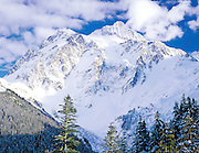 afternoon light on Mt. Shuksan, North Cascades National Park, Washington State