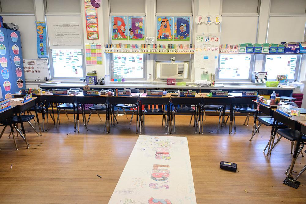 Photo by Matt Roth<br /> <br /> Woodbridge Elementary School in Harrington, Delaware on Wednesday, June 05, 2013.
