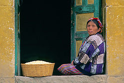 Woman With Corn