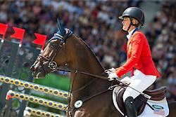 Lynn Symansky, (USA), Donner - Jumping Eventing - Alltech FEI World Equestrian Games™ 2014 - Normandy, France.<br /> © Hippo Foto Team - Leanjo De Koster<br /> 31-08-14