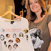 NLD/Amsterdam/20110330 - Launch tshirt lijn B. by Bridget, Monique Matthijsen