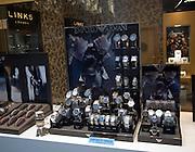 Armani watches display shop window