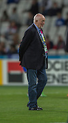 London, Great Britain,  Romanian Coach. Lynn HOWELLS.   France vs Romania. 2015 Rugby World Cup, Pool D, venue. The Stadium Queen Elizabeth Olympic Park. Stratford. East London. England,, Wednesday  23/09/2015. <br /> [Mandatory Credit; Peter Spurrier/Intersport-images]