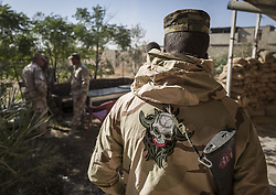 November 26, 2016 - Iraqi army soldiers at the base at the suburbs of Mosul. (Credit Image: © Berci Feher via ZUMA Wire)