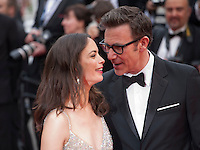 Actress, Berenice Bejo and Michel Hazanavicius at the gala screening for the film The BFG at the 69th Cannes Film Festival, Saturday 14th May 2016, Cannes, France. Photography: Doreen Kennedy