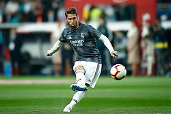March 2, 2019 - Madrid, MADRID, SPAIN - Sergio Ramos of Real Madrid during the spanish league, La Liga, football match played between Real Madrid and FC Barcelona at Santiago Bernabeu Stadium in Madrid, Spain, on March 02, 2019. (Credit Image: © AFP7 via ZUMA Wire)