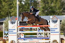 Van Der Vaart Olivier, NED, Ina-Zeldenrust<br /> Nationaal Kampioenschap KWPN<br /> 7 jarigen springen final<br /> Stal Tops - Valkenswaard 2020<br /> © Hippo Foto - Dirk Caremans<br /> 19/08/2020