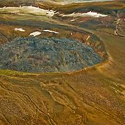 The remnants of Novarupta in Katmai National Park, Alaska.